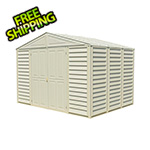 DuraMax Woodbridge 10.5' x 8' Shed with Foundation (non extendable)