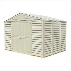 Woodbridge 10.5' x 8' Shed with Foundation (non extendable)