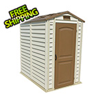 DuraMax StorePro 4' x 6' Vinyl Shed with Floor