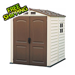 DuraMax StoreMate 6' x 6' Vinyl Shed with Floor
