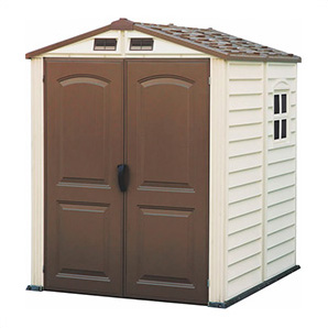 Storemate 6 X 6 Vinyl Shed With Floor