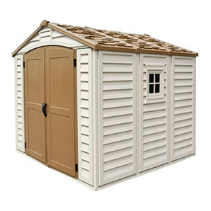 Duraplus 8 X 8 Vinyl Shed With Foundation