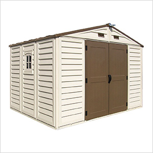 Woodbridge Plus 10.5' x 8' Vinyl Shed with Foundation