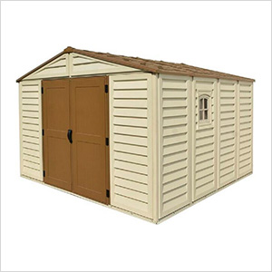 Woodbridge Plus 10.5' x 10' Vinyl Shed with Foundation