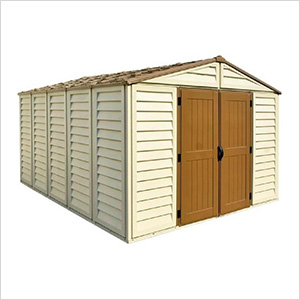 Woodbridge Plus 10.5' x 13' Vinyl Shed with Foundation