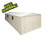DuraMax Vinyl Garage 10.5' x 23.5' with Foundation Kit