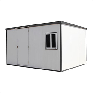 Flat Roof 13' x 10' Insulated Building