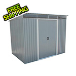 DuraMax 8' x 6' Pent Roof Metal Shed Kit