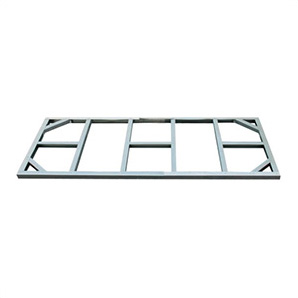 8 X 4 Pent Roof Metal Shed Foundation