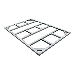 8 X 6 Pent Roof Metal Shed Foundation
