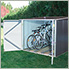 6' x 6' Bicycle Storage Shed