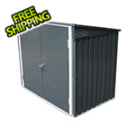 DuraMax 5' x 3' Metal Trash Bin Storage Shed