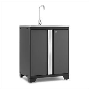 PRO 3.0 Series Grey Garage Sink
