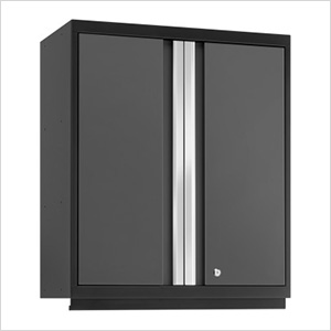 PRO 3.0 Series Grey Tall Wall Cabinet