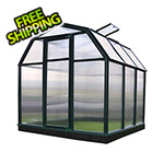 Rion EcoGrow 2 Twin Wall 6' x 6' Greenhouse