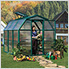 EcoGrow 2 Twin Wall 6' x 6' Greenhouse
