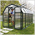 EcoGrow 2 Twin Wall 6' x 10' Greenhouse