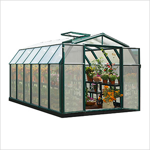 Hobby Gardener 2 Twin Wall 8' x 12' Greenhouse