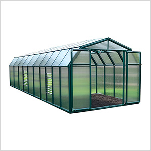 Hobby Gardener 2 Twin Wall 8' x 20' Greenhouse