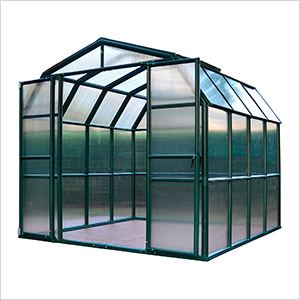 Grand Gardener 2 Twin Wall 8' x 8' Greenhouse