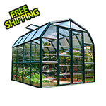 Rion Grand Gardener 2 Twin Wall 8' x 8' Greenhouse (Clear)