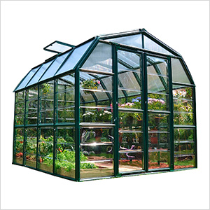 Grand Gardener 2 Twin Wall 8' x 8' Greenhouse (Clear)