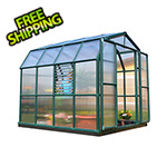 Rion Prestige 2 Twin Wall 8' x 8' Greenhouse