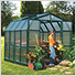Prestige 2 Twin Wall 8' x 8' Greenhouse