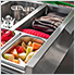Stainless Steel Combo Bar Cabinet