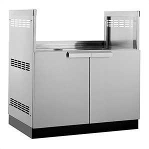 Stainless Steel 33 Insert Grill Cabinet