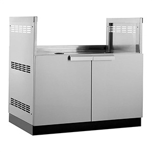 Stainless Steel 40 Insert Grill Cabinet