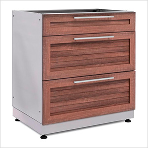 Grove 3-Drawer Base Cabinet
