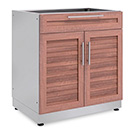 NewAge Outdoor Kitchens Grove Combo Bar Cabinet