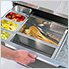 Aluminum Slate Grey Combo Bar Cabinet