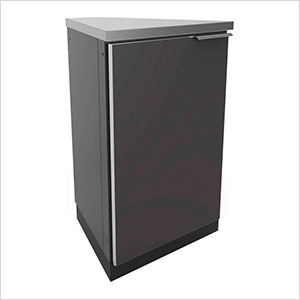 Aluminum Slate Grey 45-Degree Corner Cabinet (2-Pack)