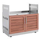 "NewAge Outdoor Kitchens Grove 40"" Insert Grill Cabinet"