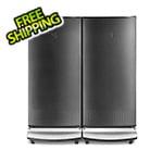 Gladiator Garage-Ready Refrigerator and Freezer Set