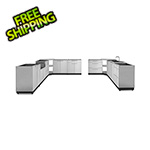 NewAge Outdoor Kitchens Stainless Steel 11-Piece Outdoor Kitchen Set