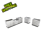 NewAge Outdoor Kitchens Stainless Steel 5-Piece Outdoor Kitchen Set