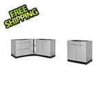 NewAge Outdoor Kitchens Stainless Steel 4-Piece Outdoor Kitchen Set