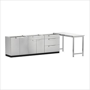 Stainless Steel 4-Piece Outdoor Kitchen Set