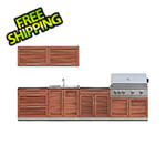 NewAge Outdoor Kitchens Grove 7-Piece Outdoor Kitchen Set