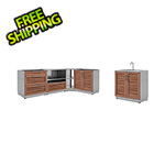 NewAge Outdoor Kitchens Grove 5-Piece Outdoor Kitchen Set