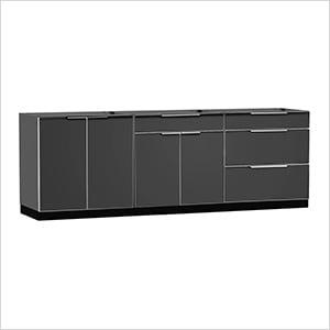 NewAge 65284 | Aluminum Slate 3-Piece Outdoor Kitchen Set on Patio Kitchen Set id=27145