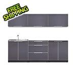 NewAge Outdoor Kitchens Aluminum Slate 6-Piece Outdoor Kitchen Set