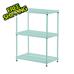 Design Ideas MeshWorks 3-Tier Shelving Unit (Sage)