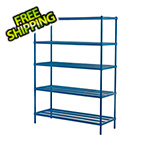 Design Ideas MeshWorks 5-Tier Shelving Unit (Blue)