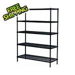Design Ideas MeshWorks 5-Tier Shelving Unit (Black)