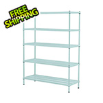 Design Ideas MeshWorks 5-Tier Shelving Unit (Sage)