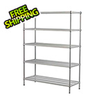 Design Ideas MeshWorks 5-Tier Shelving Unit (Silver)